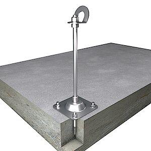 EAP gebogen 16mm Platte auf Beton