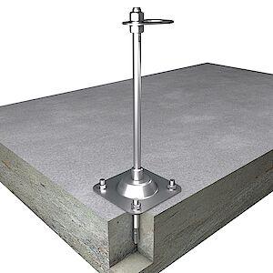 EAP flach 16mm Platte auf Beton