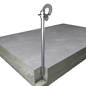 EAP gebogen BS 20mm Beton geklebt
