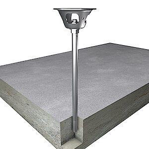 EAP Quattro 20mm Beton geklebt