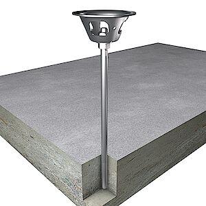 EAP Quattro 16mm Beton geklebt