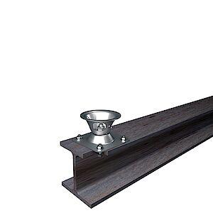 EAP Quattro Platte auf Stahl