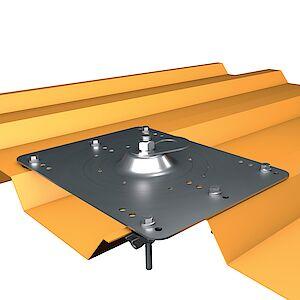 EAP flach Platte auf Trapezblech