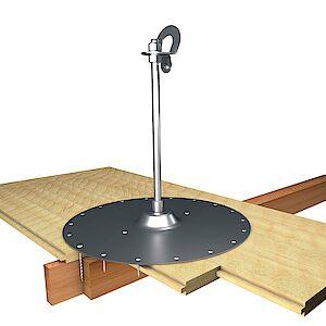 EAP gebogen BS 16mm Platte auf Holzschalung