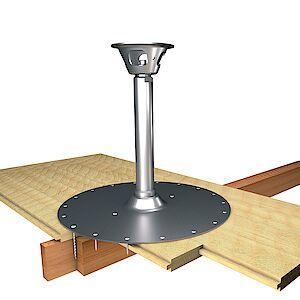 EAP Quattro 42mm Platte auf Holzschalung