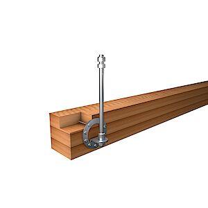 Systemstützen für Holzkonstruktionen