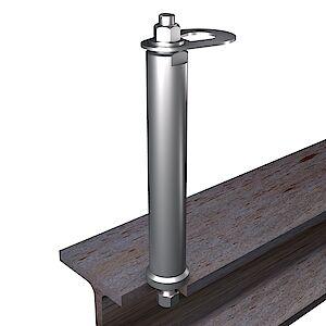 EAP flach 42mm auf Stahl
