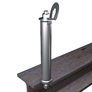EAP gebogen 42mm auf Stahl