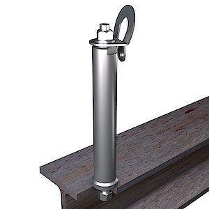 EAP gebogen BS 42mm auf Stahl