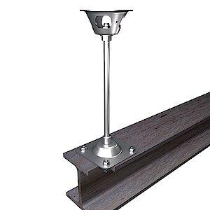 EAP Quattro 16mm Platte auf Stahl