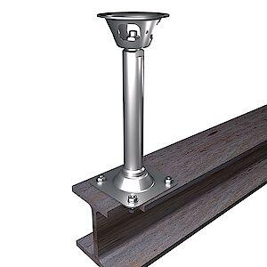 EAP Quattro 42mm Platte auf Stahl