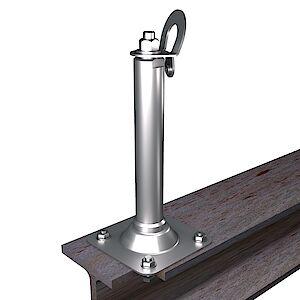 EAP gebogen BS 42mm Platte auf Stahl