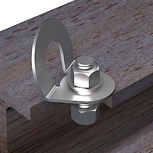 EAP gebogen auf Stahl