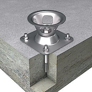EAP Quattro Platte auf Beton