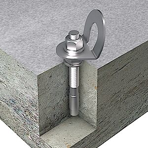 EAP gebogen Beton Bolzenanker