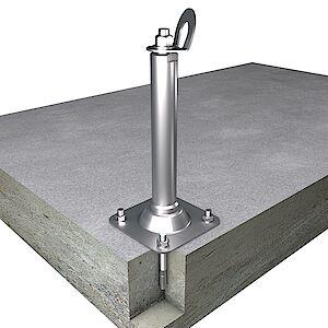EAP gebogen 42mm Platte auf Beton