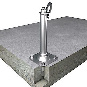 EAP gebogen BS 42mm Platte auf Beton