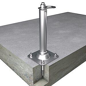 EAP flach 42mm Platte auf Beton
