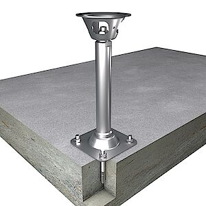 EAP Quattro 42mm Platte auf Beton