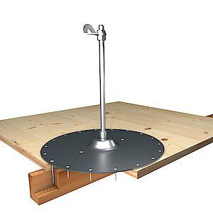 EAP Standard, Stütze 16mm, auf Grundplatte Holz - Schichtplatten