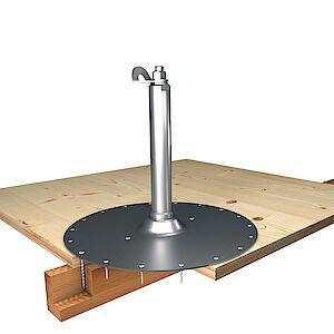 EAP Standard, Sützte 42mm, auf Grundplatte Holz - Schichtplatten