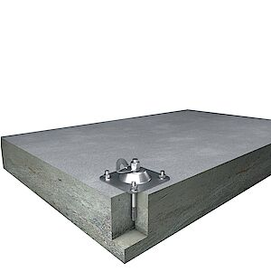 EAP Standard auf Grundplatte Beton