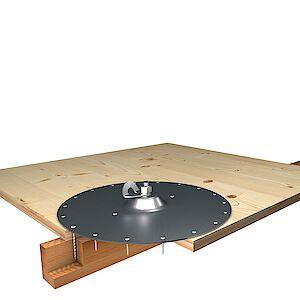 EAP Standard auf Grundplatte Holz - Schichtplatten