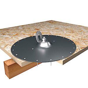 EAP gebogen Platte auf OSB