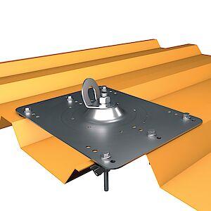 EAP gebogen Platte auf Trapezblech