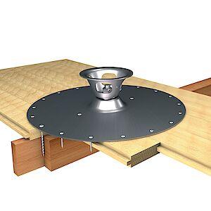 EAP Quattro Platte auf Holzschalung