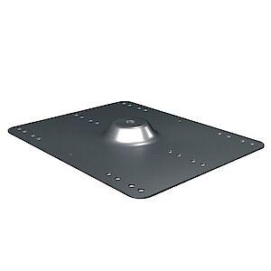 Grundplatte Trapezbleche 373 x 280mm