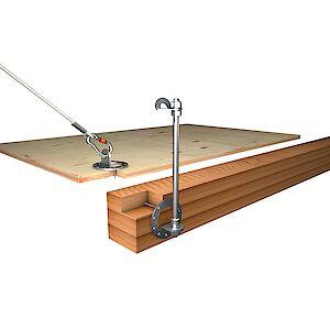 Einzelanschlagpunkte EAP Holzkonstruktionen