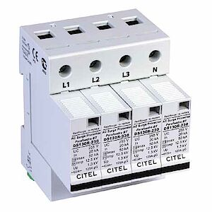 Scaricatore di corrente di fulmini DS 130 RS - Tipo 1 + 2