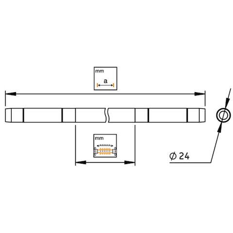 Zugisolator zu NS25